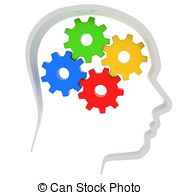 Brains clipart gear clipart Head and Clip Art Illustrations