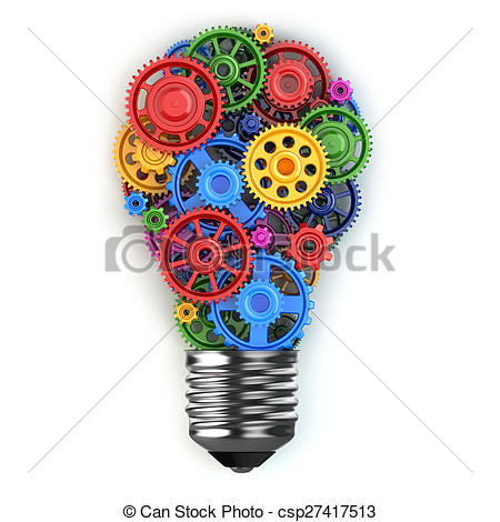 Gears clipart light bulb Mobile mobile idea Perpetuum gears