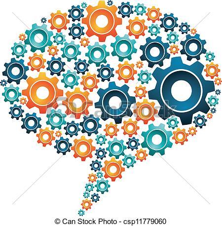 Gears clipart machine gear Machine Social Social in Clip