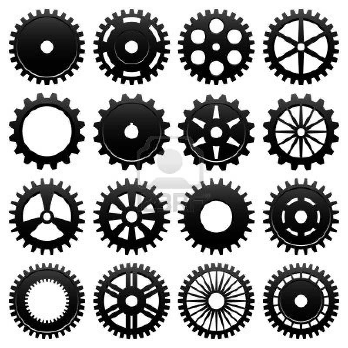 Gears clipart machine gear Image Royalty And Machine Machine