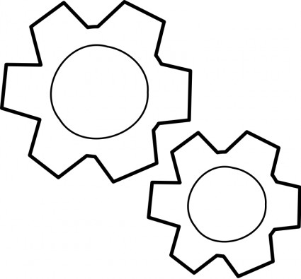 Gears clipart many gear Gears / Engrenages Clipart Download