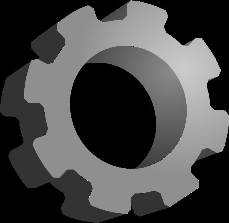 Gears clipart mechanical gear Gears Mechanical Clip Gears Art
