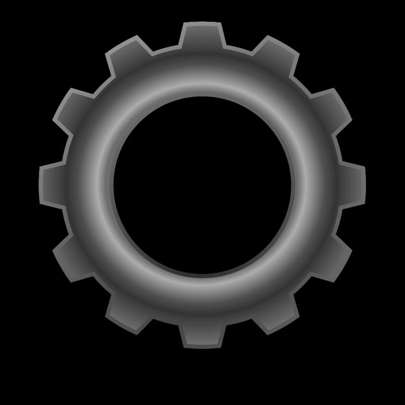 Gears clipart metal Art to Clip Domain Gears