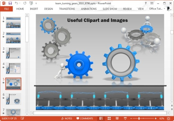 Gears clipart powerpoint Gears Team gear PowerPoint Turning