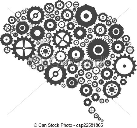 Brains clipart gear clipart Gears of And Cogs Brain