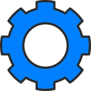 Gears clipart robot gear Images art Pinterest best Blue