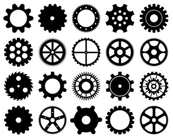 Drawn gears Scrapbooking Steampunk Clip Cogs Art