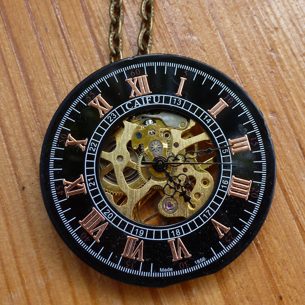 Gears clipart steampunk pocket watch WATCH dial item? necklace pocket
