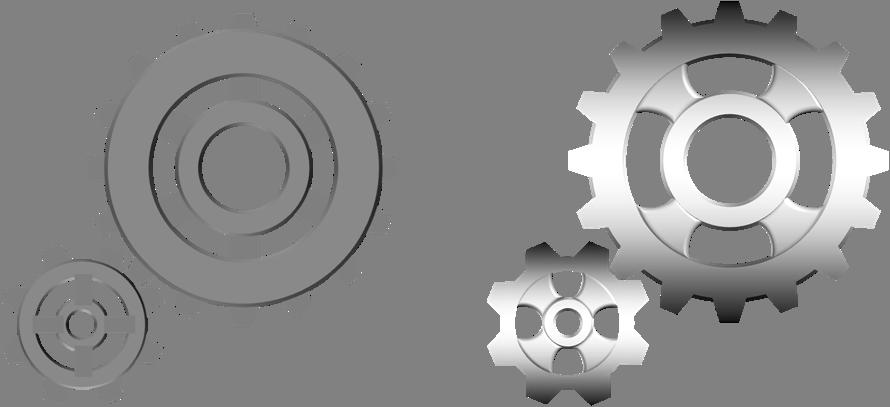 Gears clipart three Illustrations art clip 3d Free