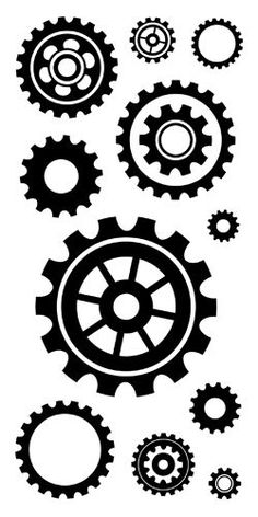 Gears clipart time clock Clear GL Stock Clipart Gears