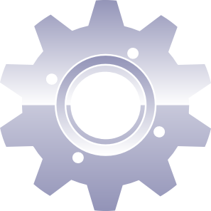 Gears clipart transparent  Clip at Gear art