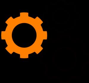 Gears clipart transparent  Gears Clip Art vector