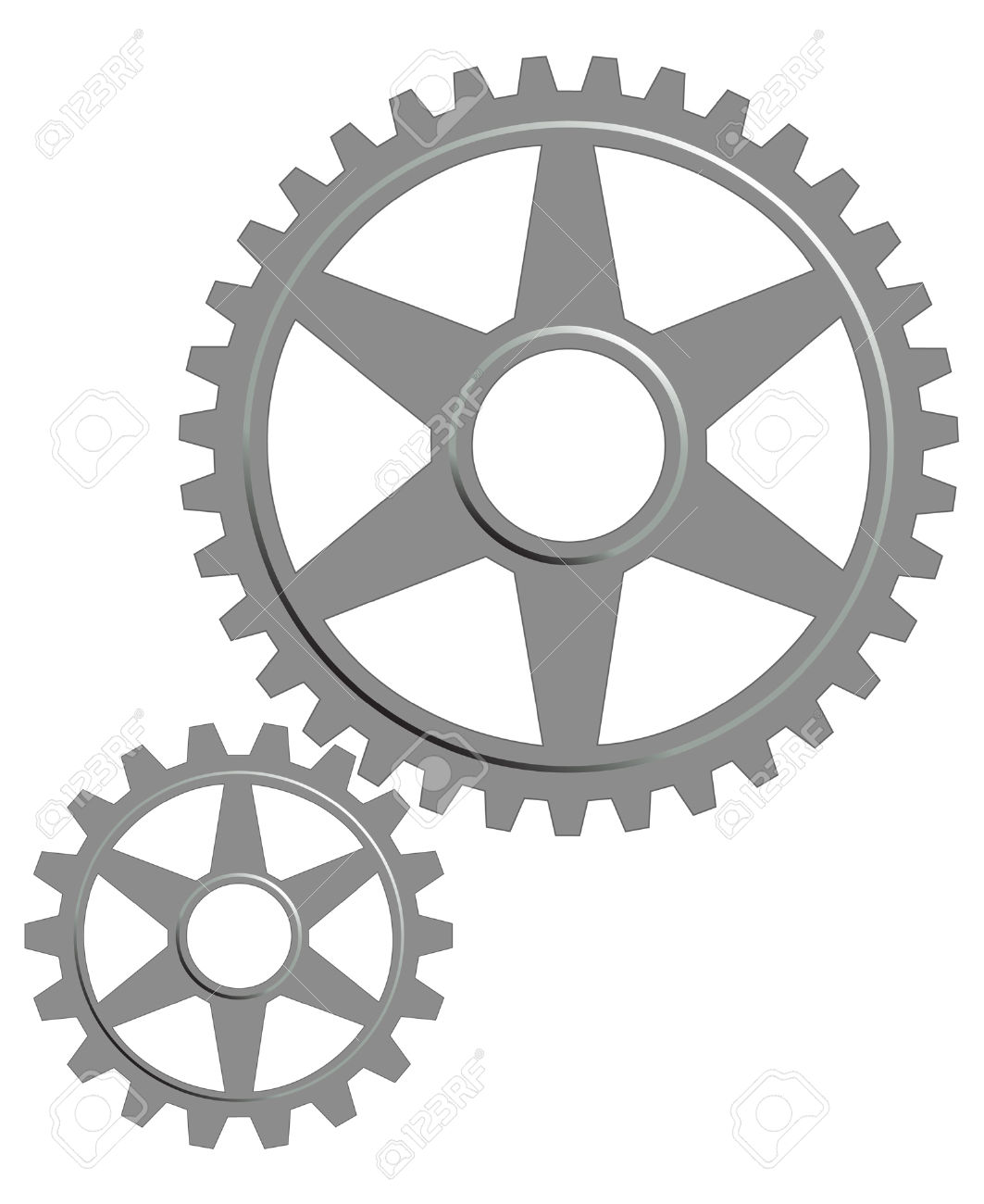 Gears clipart transparent background Printable Clipart — Images Clipartwork