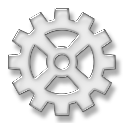 Gears clipart transparent background Gear Spoke #076031 Icon »