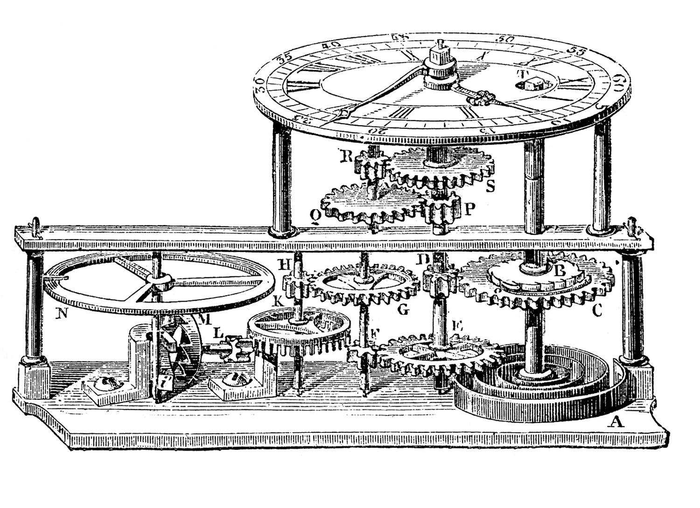 Gears clipart vintage steampunk Clock Vintage Vintage The Gears