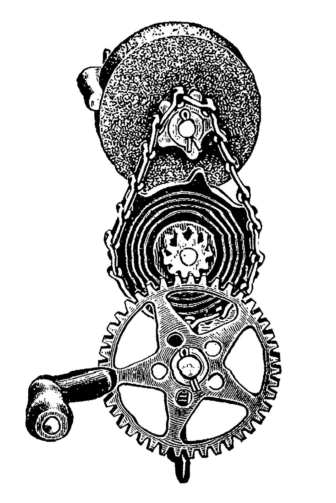 Gears clipart vintage steampunk Of Steampunk Gears Steampunk Digital