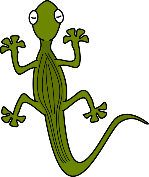Gecko clipart Clipart of Free Free page