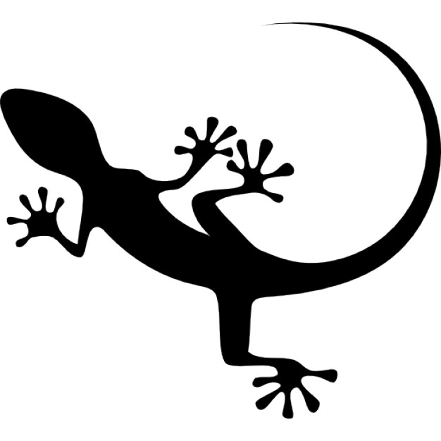 Leopard Lizard clipart silhouette Photos Free Gecko Gecko Download