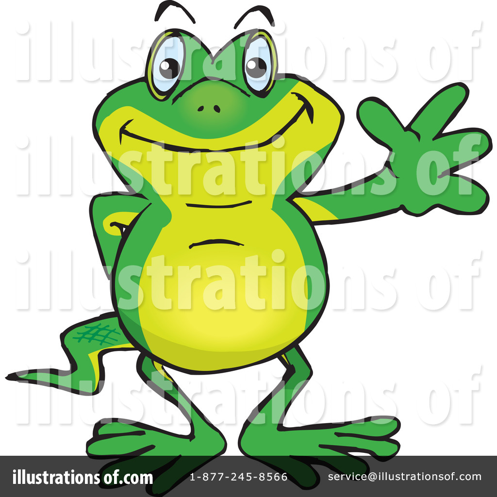 Gecko clipart yellow Stock Dennis Clipart Illustration Holmes