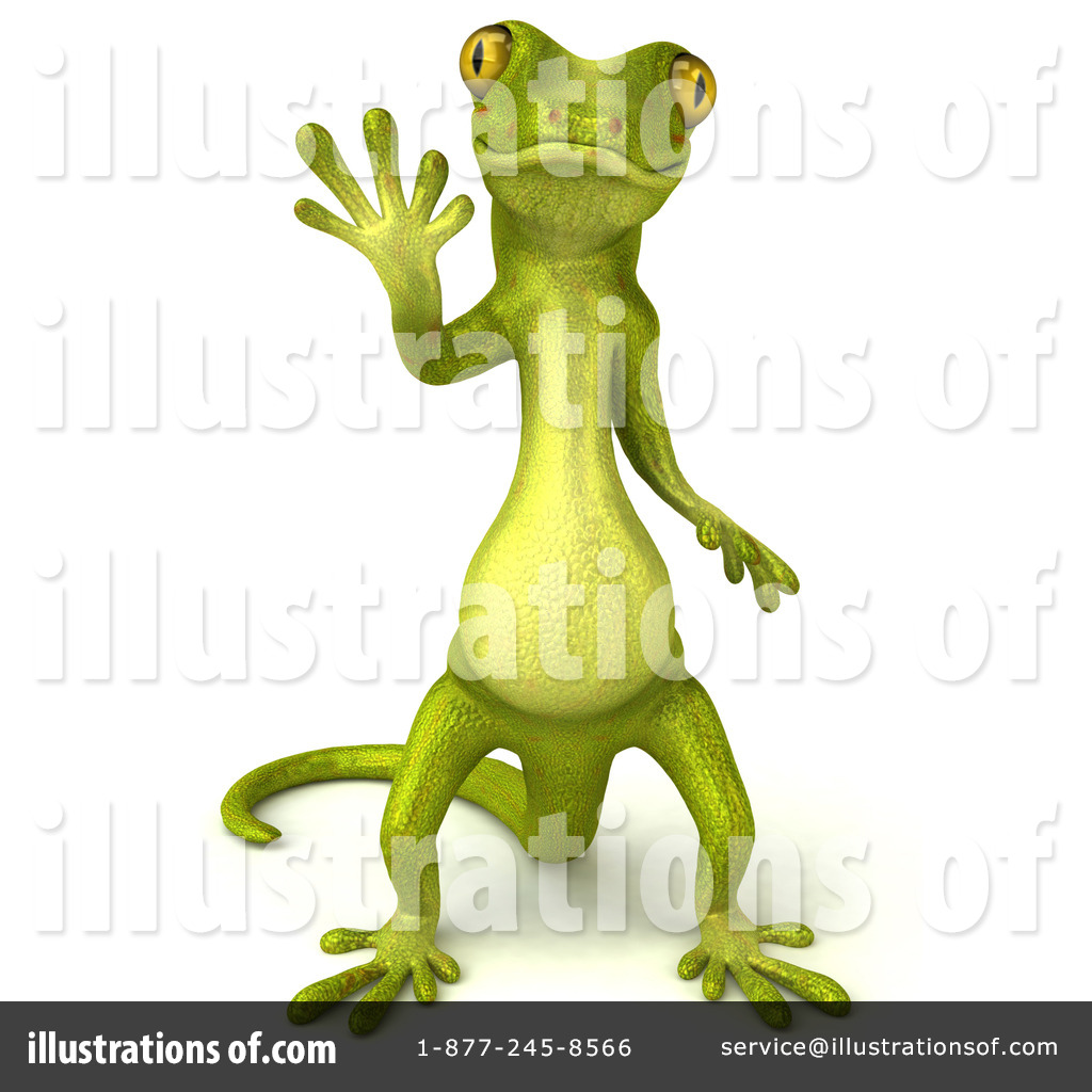 Gecko clipart yellow Gecko #54073 #54073 Clipart by
