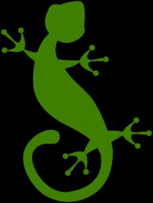 Gecko clipart yellow Online vector Animal clip Clip