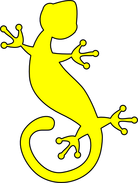 Gecko clipart Sil at Download  online