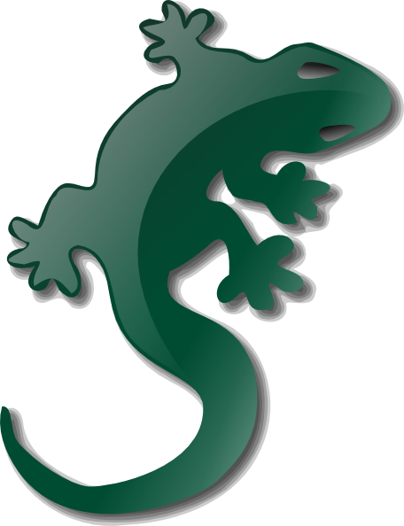 Drawn reptile yellow spotted At Download this image vector