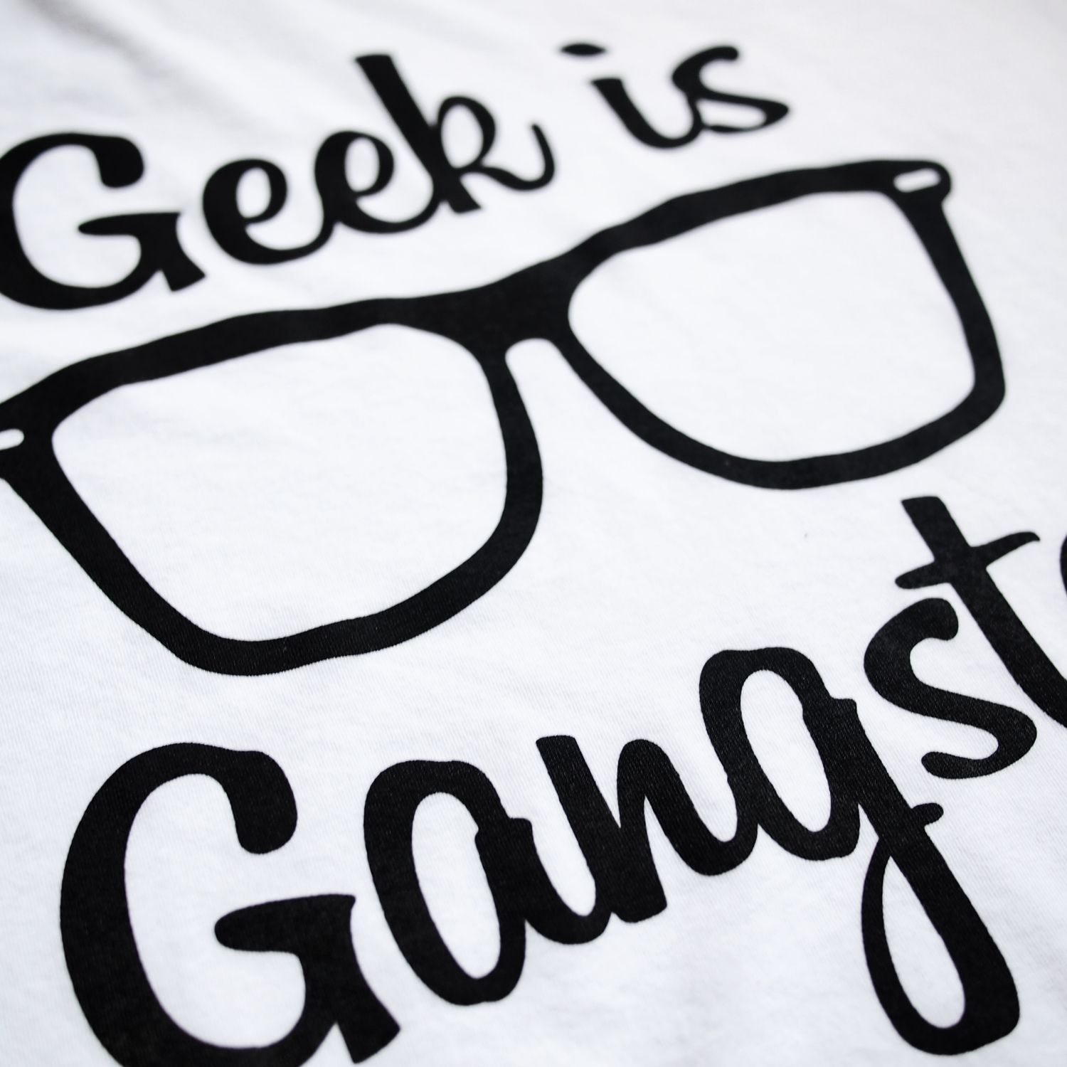 Geek clipart black glass In shirt want this is