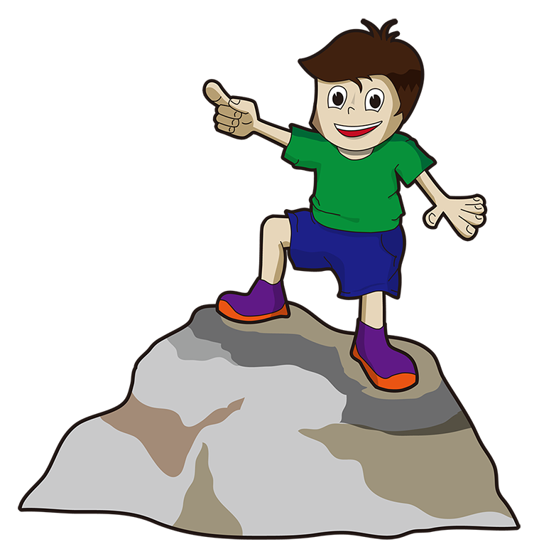 Geek clipart boy pointing QView Raymond com Illustrations Size
