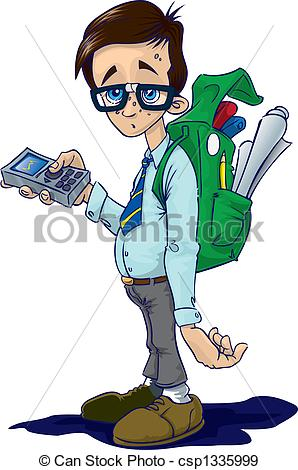 Geek clipart boy pointing Geek free clipart Clipart