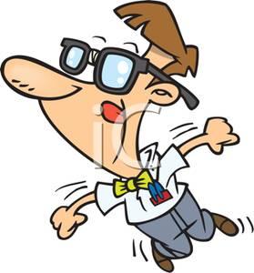 Geek clipart cartoon Of Clipart Cartoon Joy For
