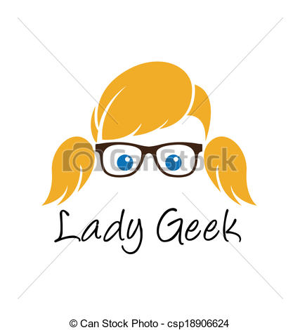 Geek clipart cartoon Geek collection Confused clipart Vector