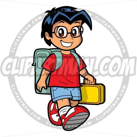 Geek clipart cartoon person & cartoon & custom Schoolboy