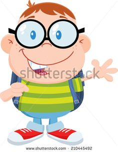 Geek clipart chico Raster craft Flat Happy Dilek