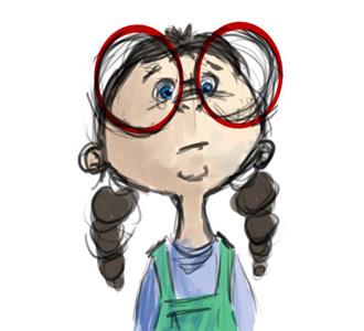 Geek clipart female nerd Art Milky of Ten Nerd