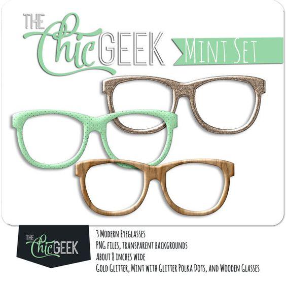 Geek clipart glass transparent Ideas Digital Glasses DOWNLOAD gold