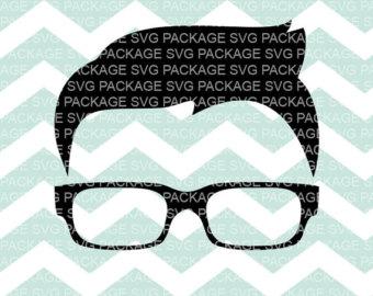 Geek clipart glass transparent Svg Nerd Clipart Office SVG