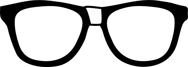 Geek clipart hipster glass Free Clip Clipart Panda Glasses
