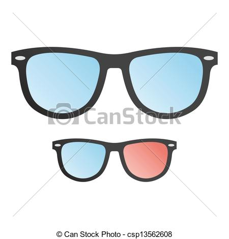 Geek clipart hipster glass Hipster see  Vector of