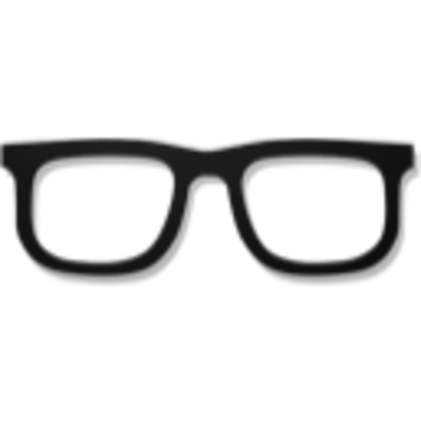Geek clipart hipster glass Free Images Clipart Panda Clipart