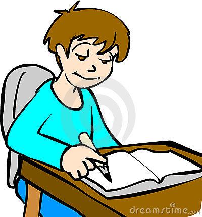 Larger clipart homework Girl Homework Free Clipart Clipart