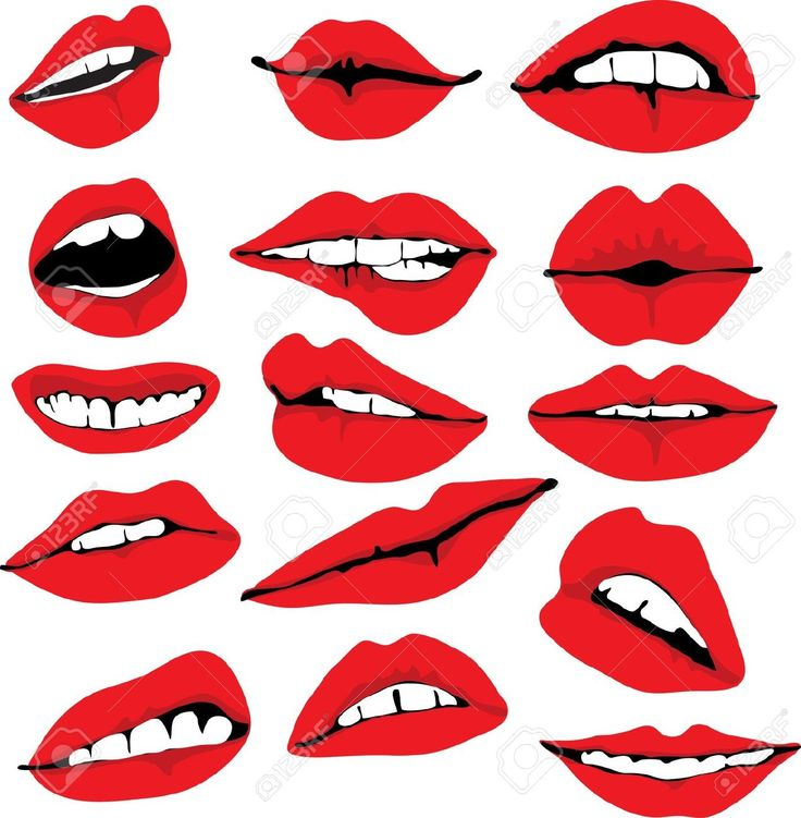 Lips clipart big smile Images on and best ClipArt