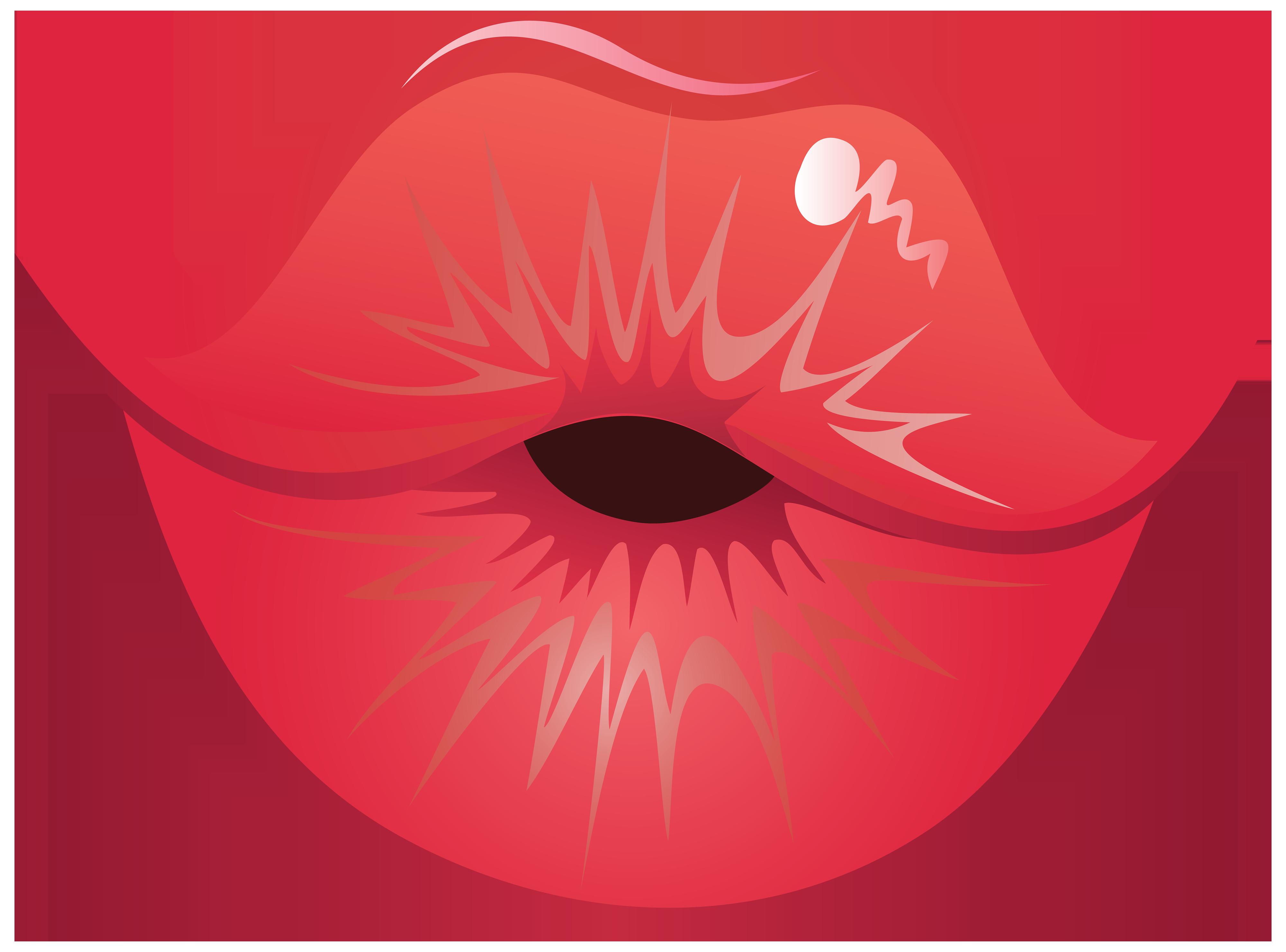 Lips clipart kissy lip PNG Clipart Lips Kiss WEB
