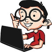 Geek clipart nerd boy Illustrations clipart Geek Clipart Computer