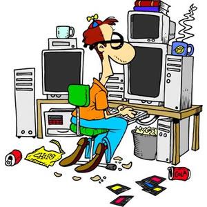 Geek clipart programming Art Programmer Free Clipart Programming