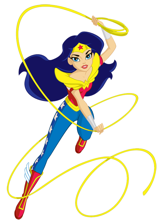 Geek clipart smart woman Barbie Fashion Wonder Woman Monster