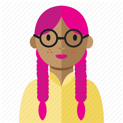 Geek clipart smart woman Nerd Avatar smart woman geek