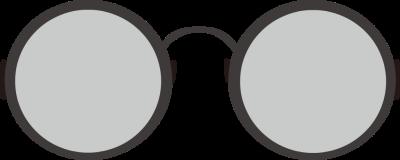 Eyeball clipart round glass Frames glasses nerd – Eyeglasses