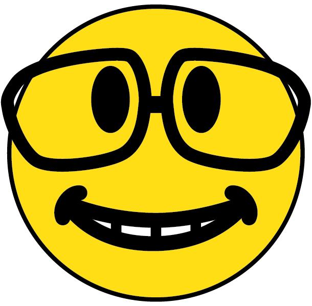 Geek clipart sunglass Clipart Glasses Nerd Face Clipart