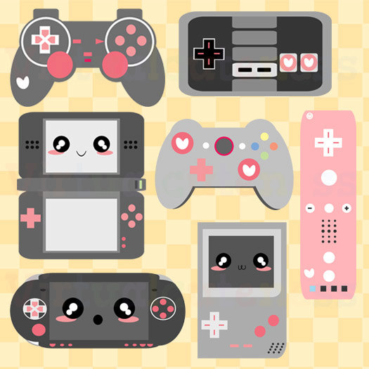 Geek clipart video game Game Video Gaming Clipart girls